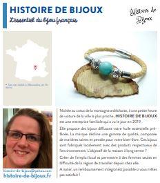 la carte française -histoire de bijoux