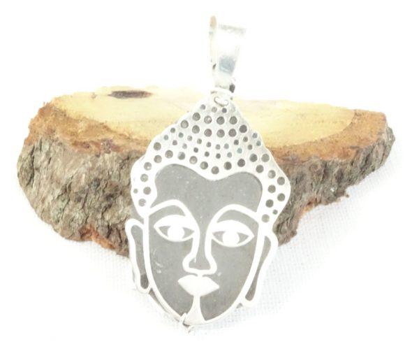 collier bouddha en argent bijou diffuseur huile essentielle
