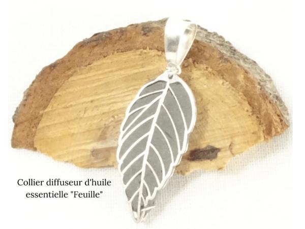 Collier Feuille -Histoire de bijoux