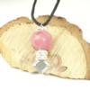 Pendentif argent rhodonite-Histoire de bijoux
