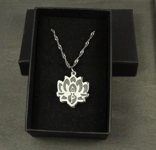 Bijou fleur de lotus bijou original- bijou diffuseur