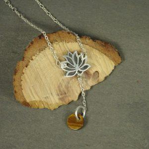 Bijoux fleur de lotus