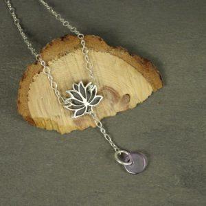 Fleur de lotus : des bijoux originaux en argent