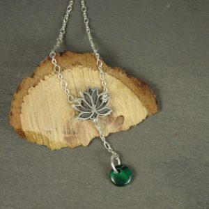 Bijou fleur de lotus optimisme